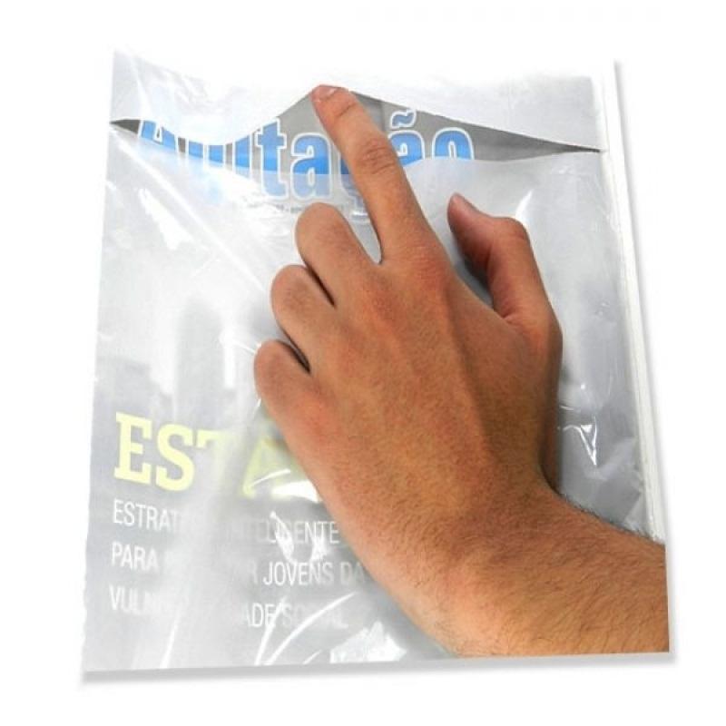 Envelope plástico revista