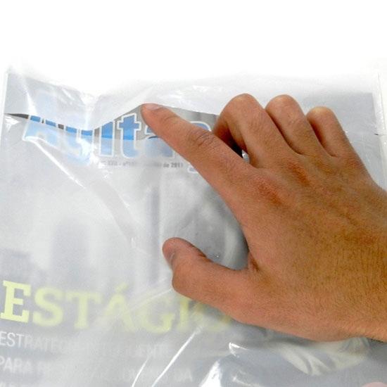Envelope plástico tipo fronha