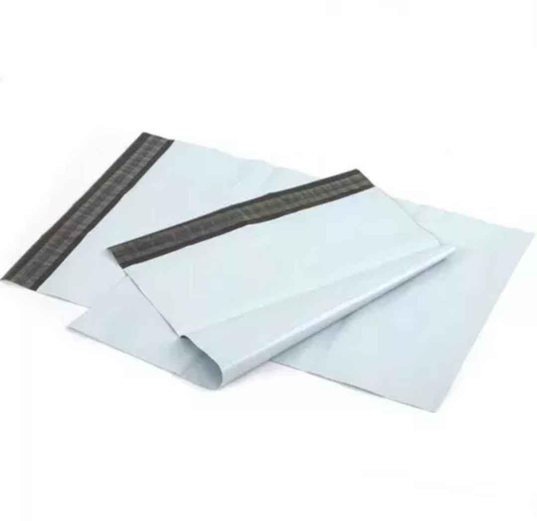 Envelope plástico transparente void azul