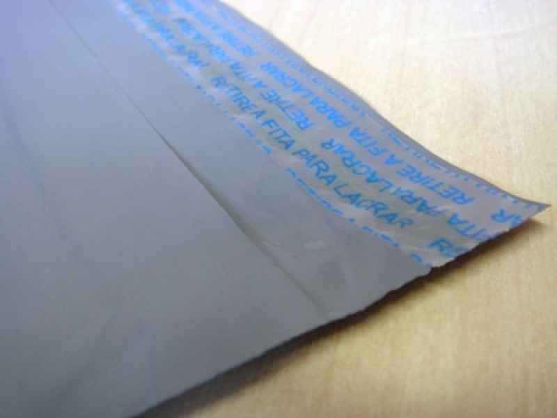 Envelope plástico vai e vem personalizado