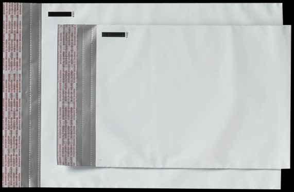 Envelope plástico voided