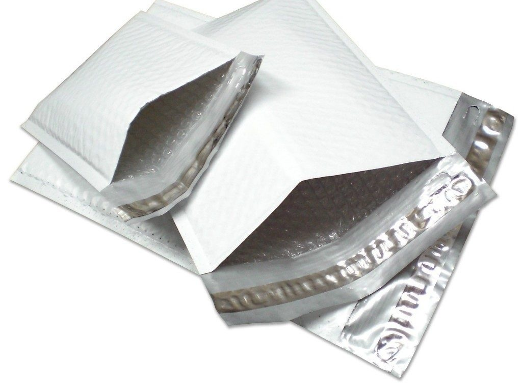 Envelope revestido com plástico bolha
