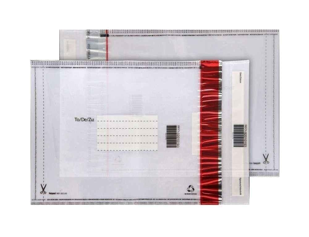Envelope segurança adesivado