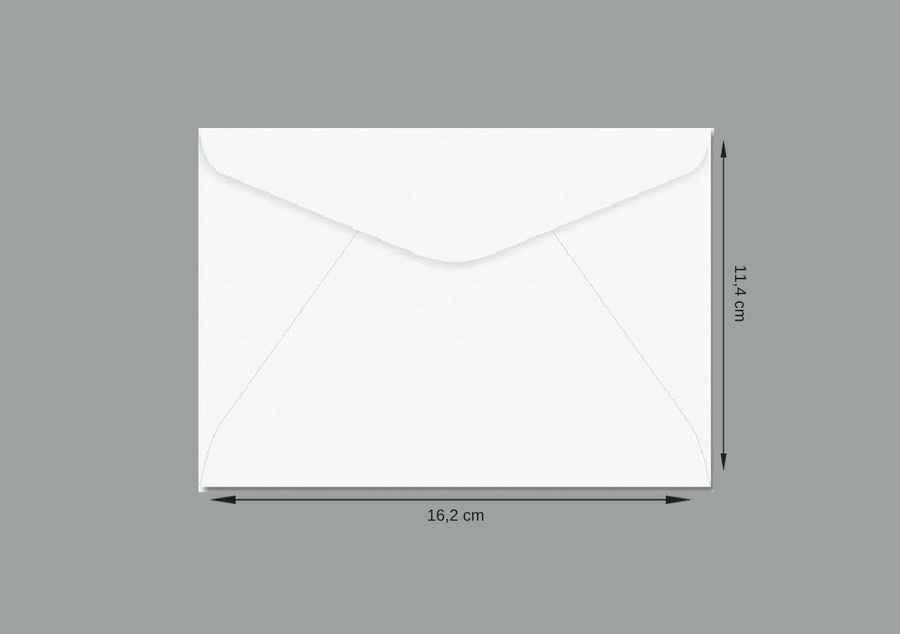 Envelope sem impressão