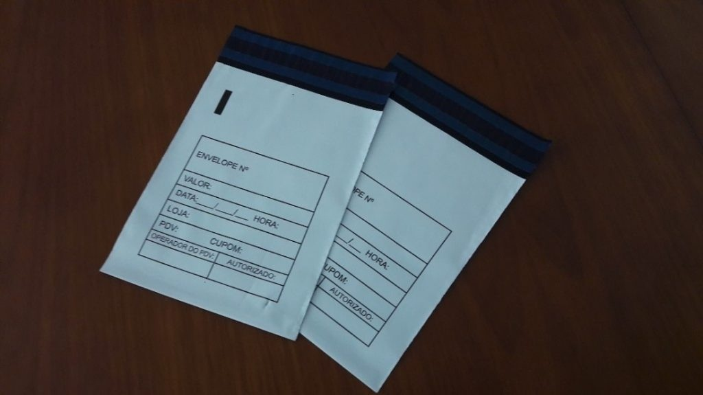 Envelope tipo transporte