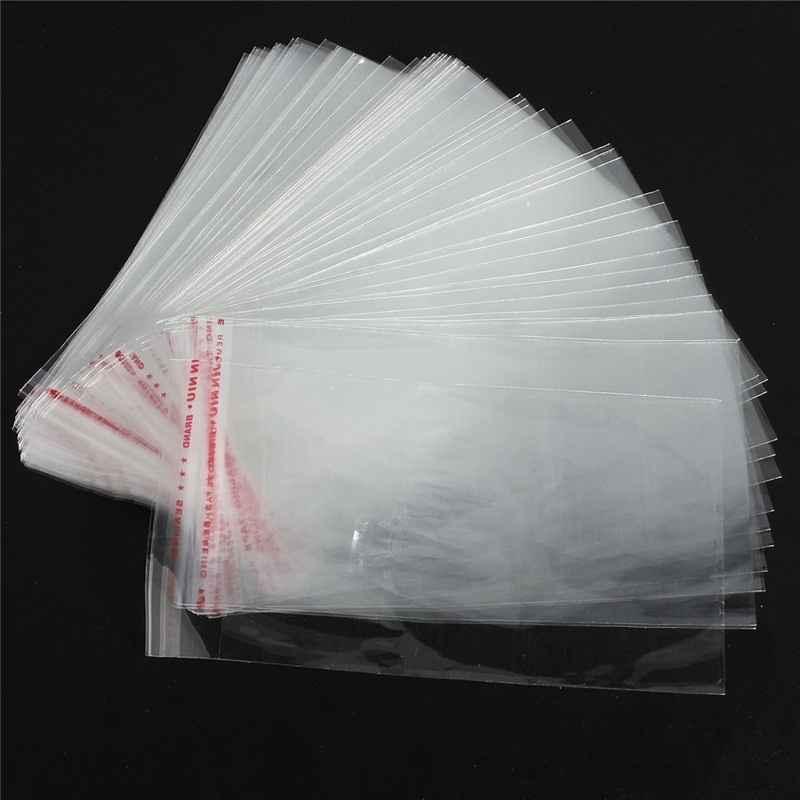 Envelope transparente com adesivo