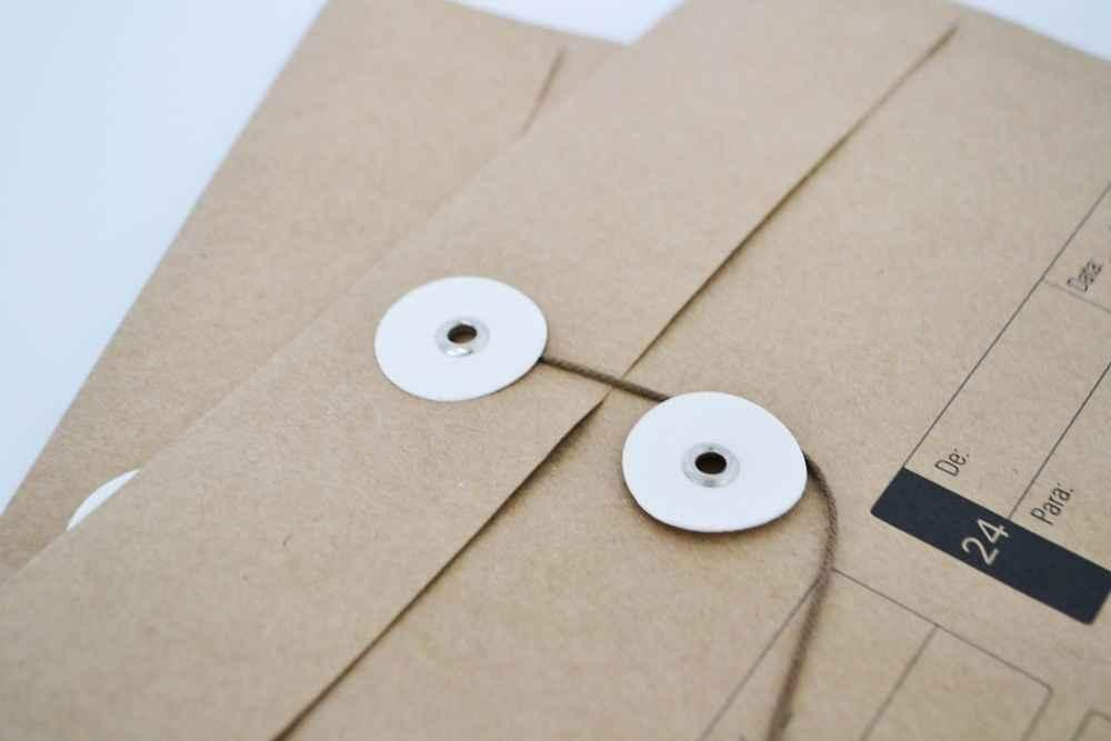 Envelope vai e vem para escritório