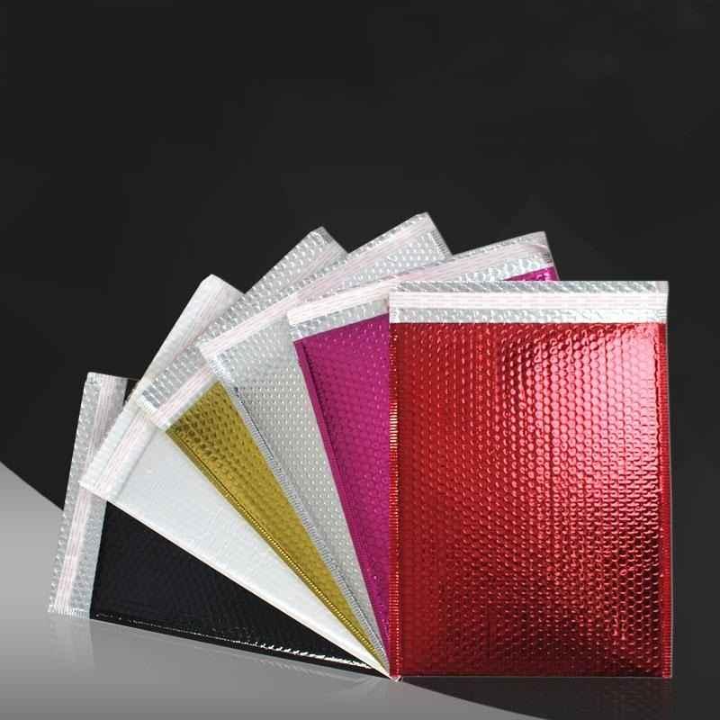 Envelopes bolha colorido