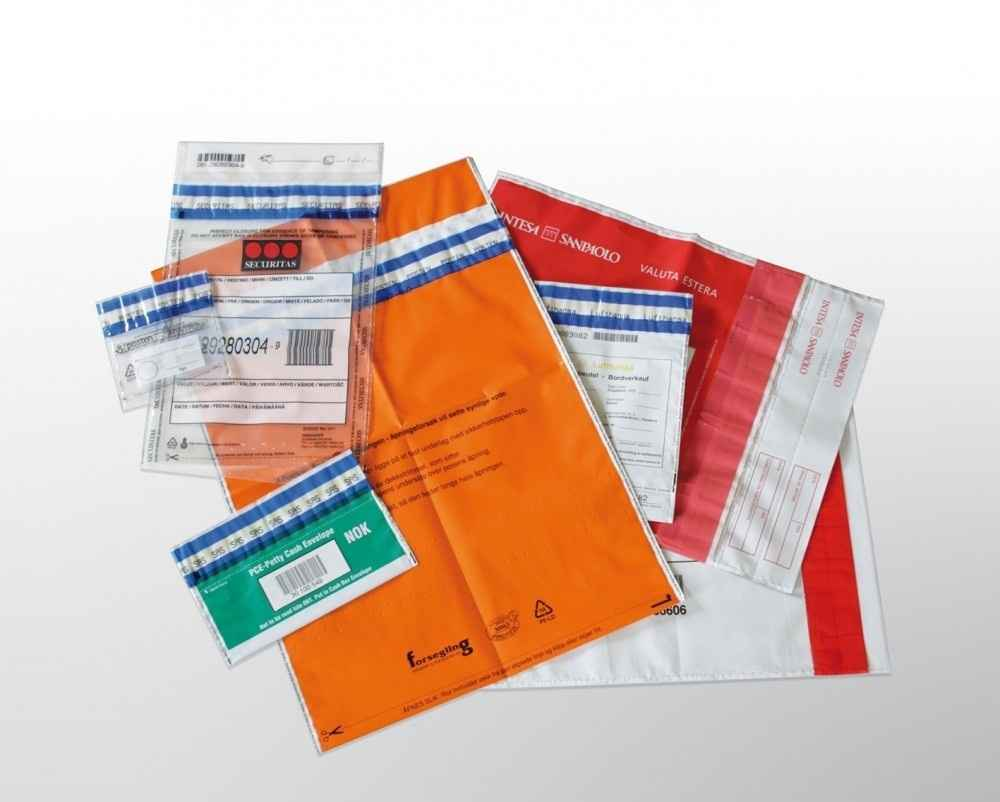 Envelopes de plásticos e personalizados