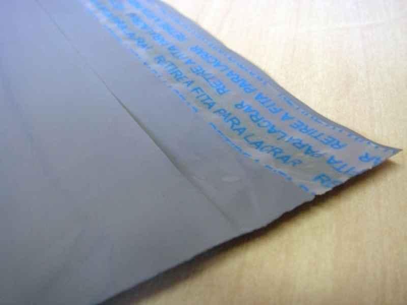 Envelopes em plástico coex adesivado