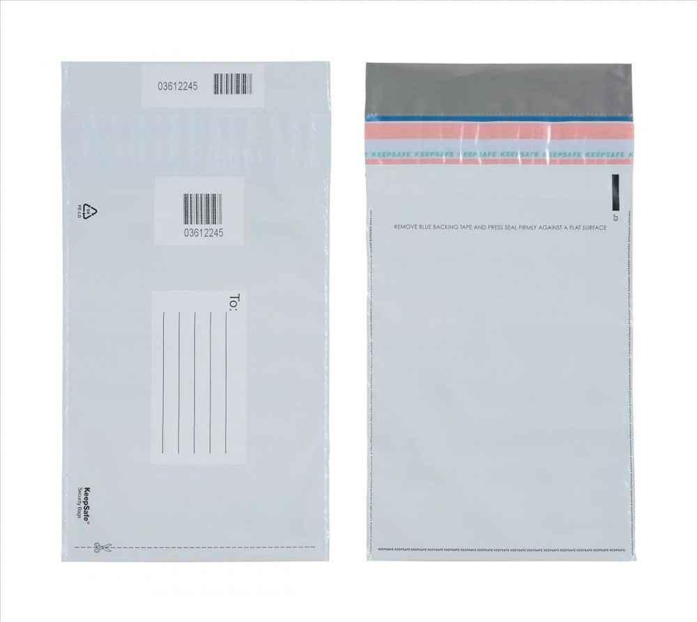 Envelopes em segurança adesivados