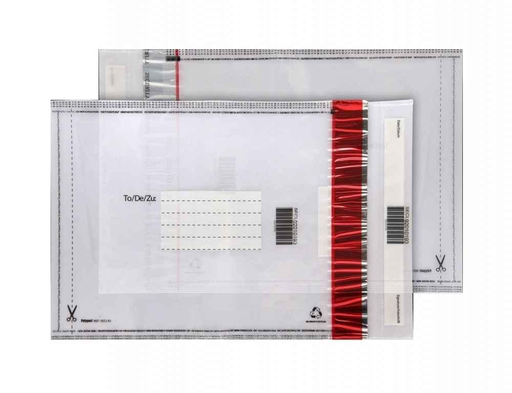 Envelopes plástico com bolha correios
