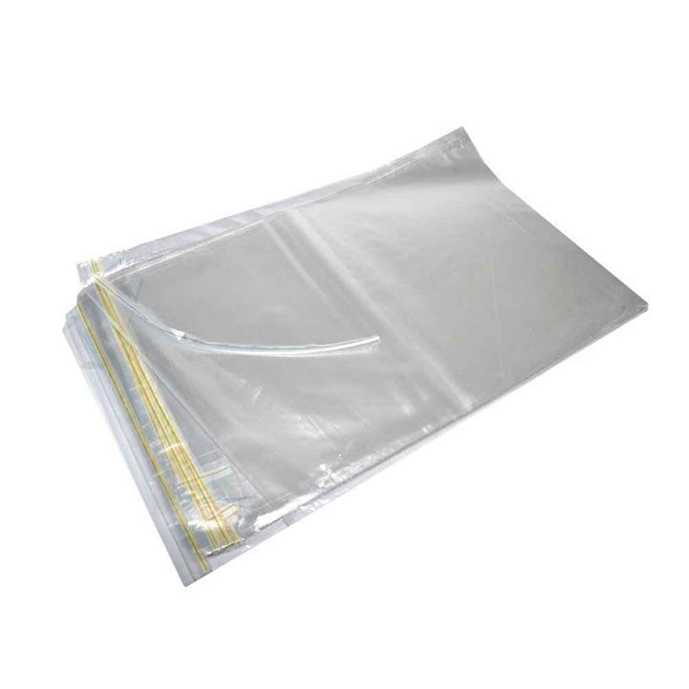 Envelopes plásticos com lacres