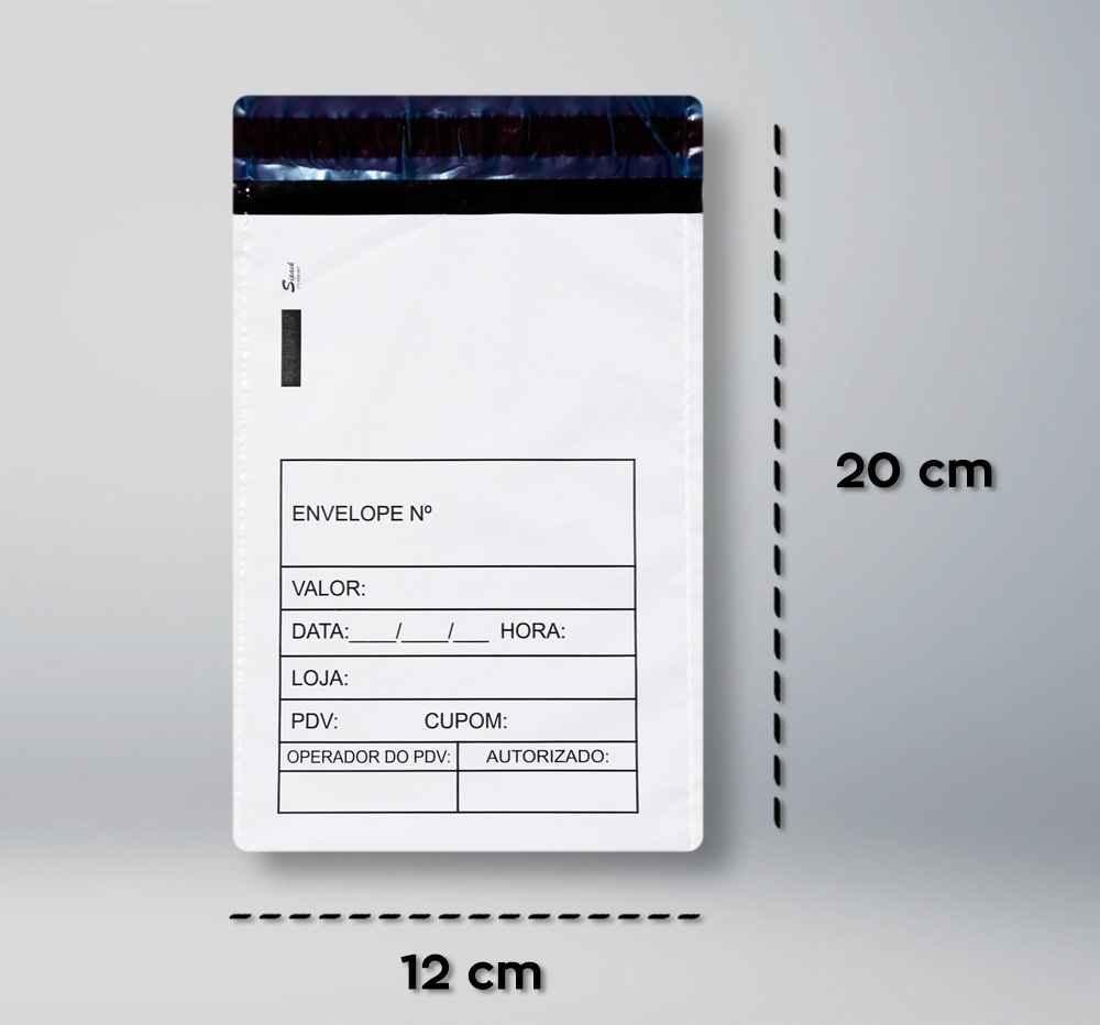 Envelopes plásticos de sangria