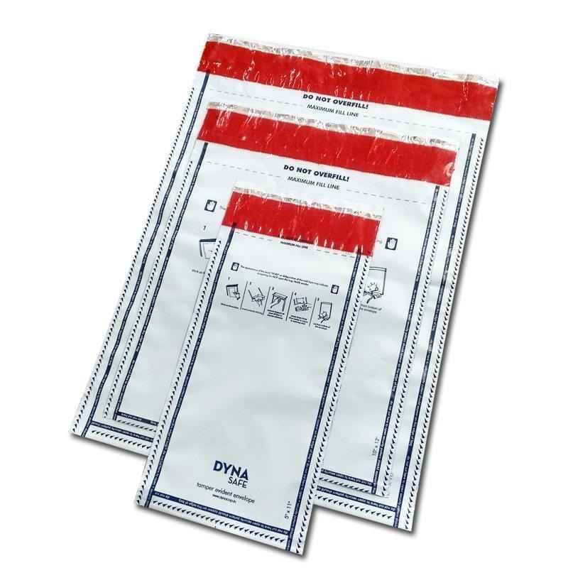 Envelopes sangria de caixa de banco