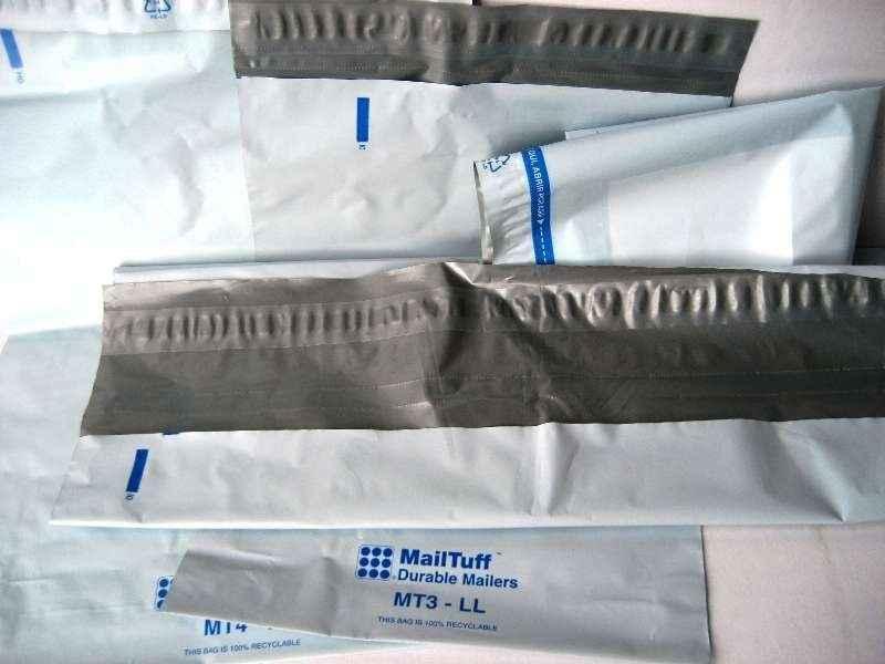 Envelopes segurança plásticos tipo void
