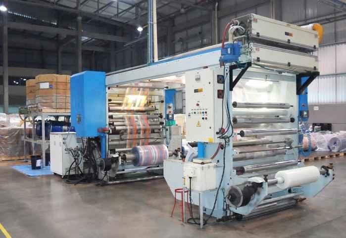 Indústria de embalagem plástica flexível